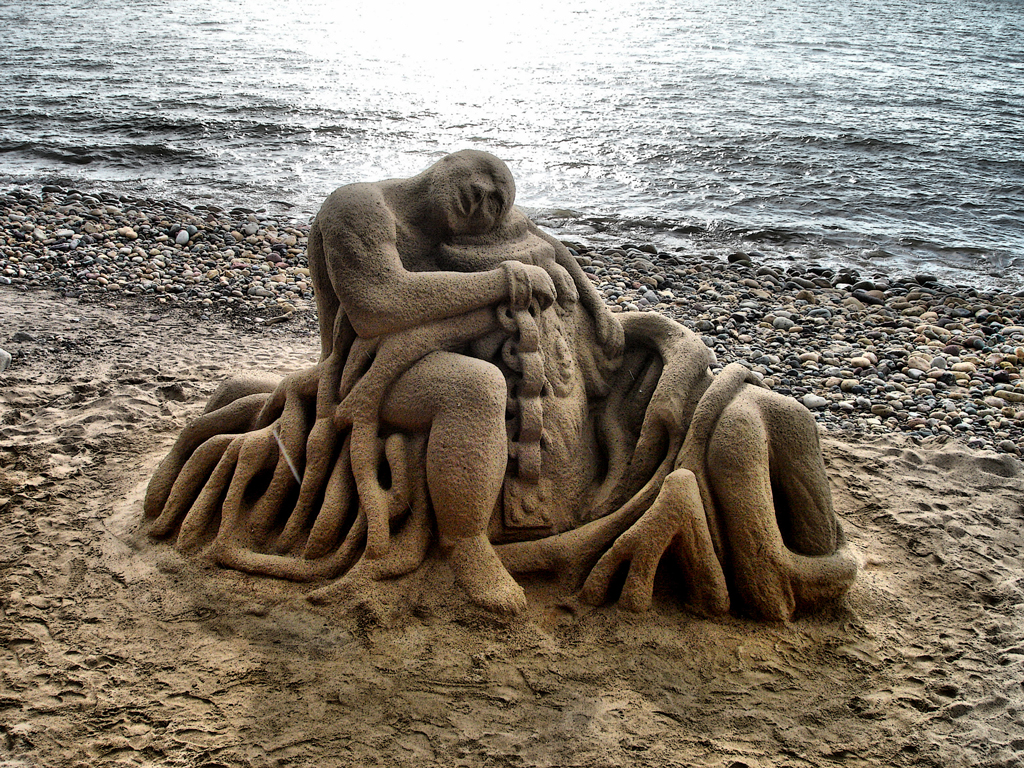 Sandcastle by sixt0p
