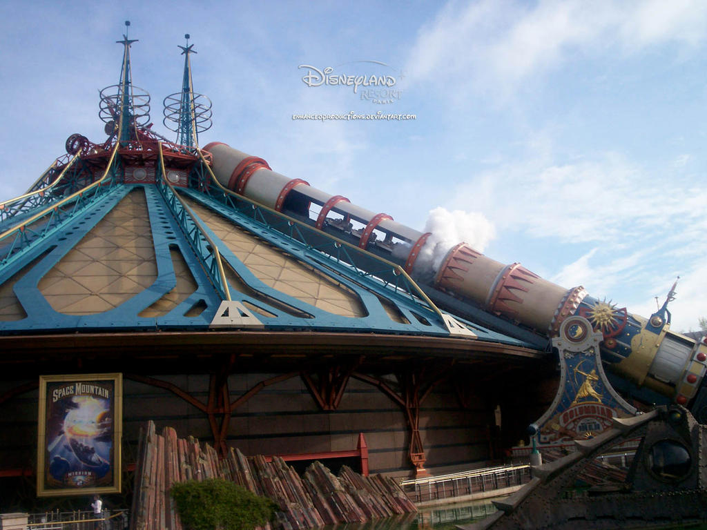 Space Mountain Mission 2 by enhancedproductions on deviantART