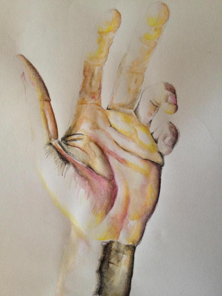 Hand in Despair by PatrickRyant