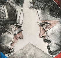 Captain America: Civil War by PatrickRyant