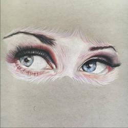 Furry Eyes by PatrickRyant
