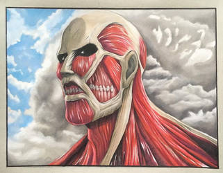 The Colossal Titan by PatrickRyant