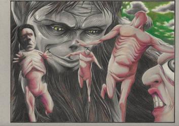 The Beast Titan by PatrickRyant