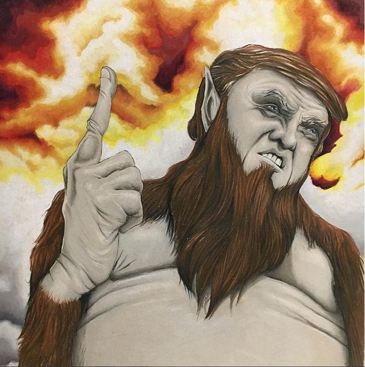 Trump Titan by PatrickRyant