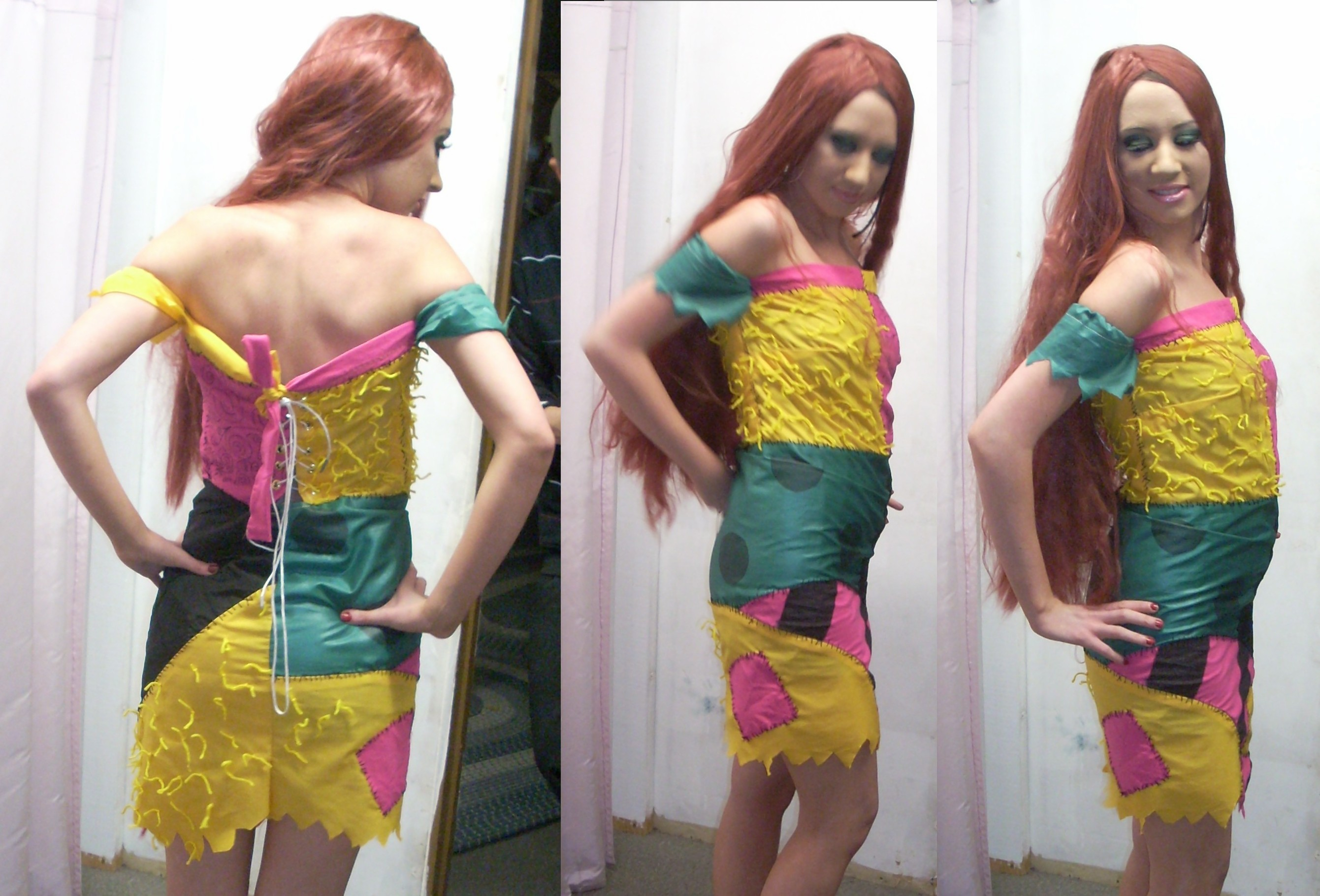 Diy Sally Costume & Sally From The Nightmare Before