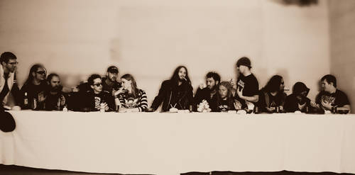 Aghast Supper