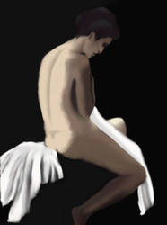 nude by PaintedBlack101