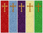 Fleury Cross Bookmarks