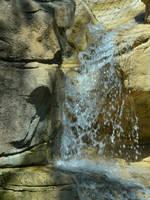 Water fall in the rocks by uguardian