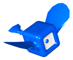 Blue Box Fish by uguardian