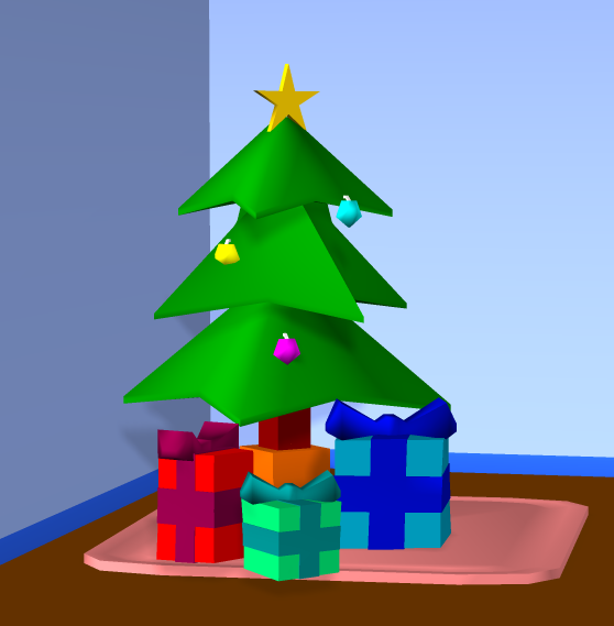 Low Poly Christmas by uguardian