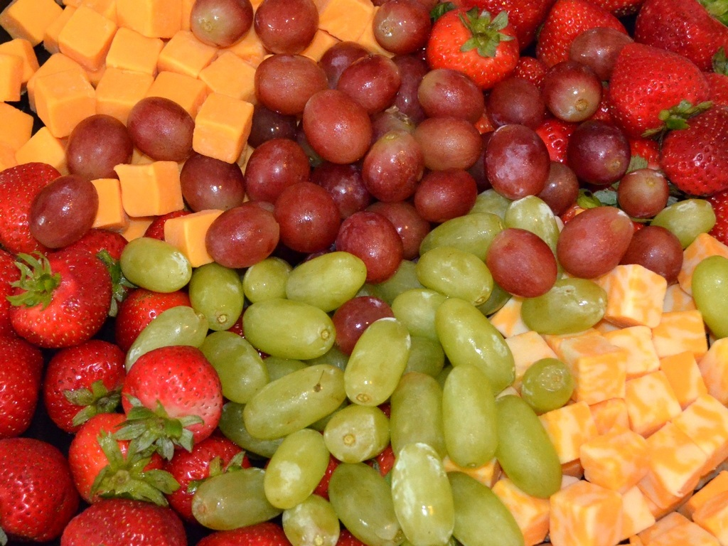 Fruit and Cheese Medley by uguardian