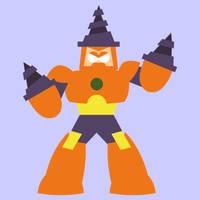 Rocktober #1: Drill Man by uguardian