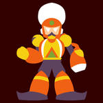 Rocktober #13: Flame Man by uguardian