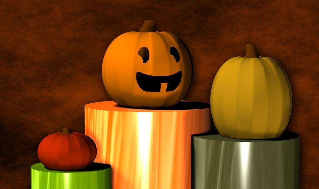 Halloween Pumpkins by uguardian