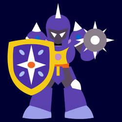 Rocktober #21: Knight Man by uguardian
