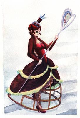 Queen watercolor