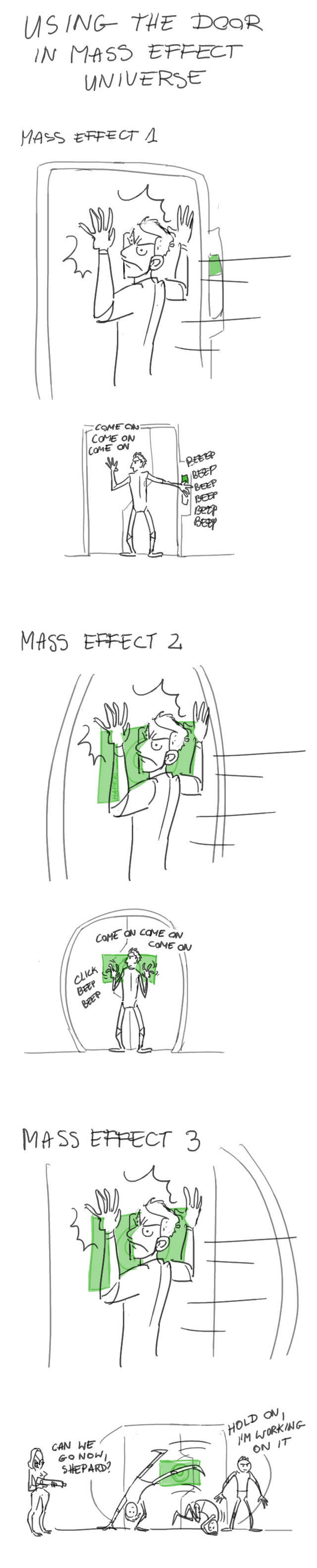 Shepard's only weakness by haffri
