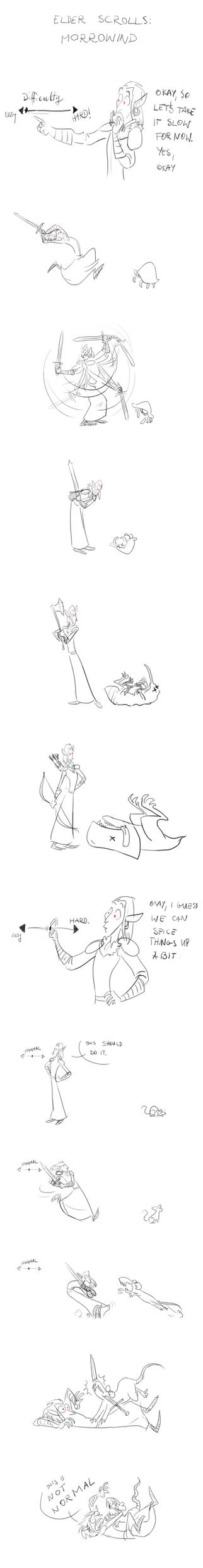 Started playing Morrowind by haffri
