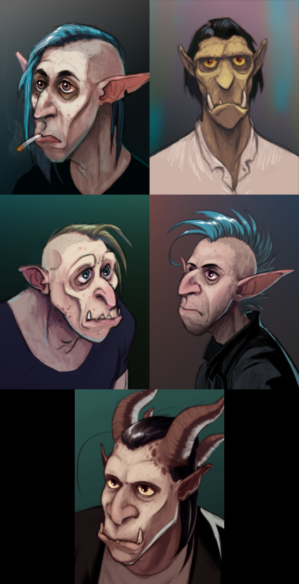 Character Portraits by haffri