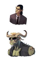 Shadowrun characters
