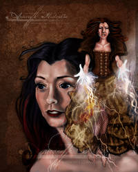Steampunk Willow  Anjeanette Illustration by AnjeanetteIllios