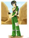 Avatar: older modern Toph