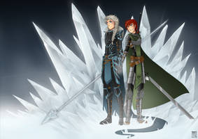 Frozen: AU! Strenght Of Thousand Men by Tripower