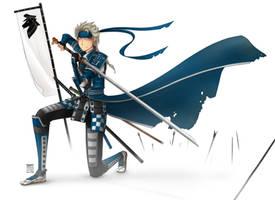 Frozen - Samurai!Elsa by Tripower