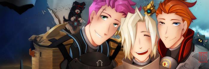 OW x Destiny 2 - Fireteam Selfie