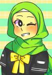 AYA from Muslim Manga Club by Uri1231