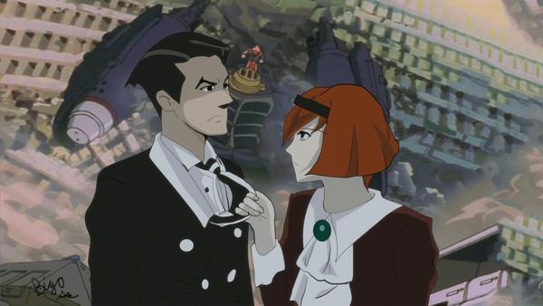 Big O Anime Characters : Big o show time roger smith and dorthy by nokajix on