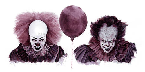 Painted with Wine: Pennywise Past and Present by Paintedwithwine