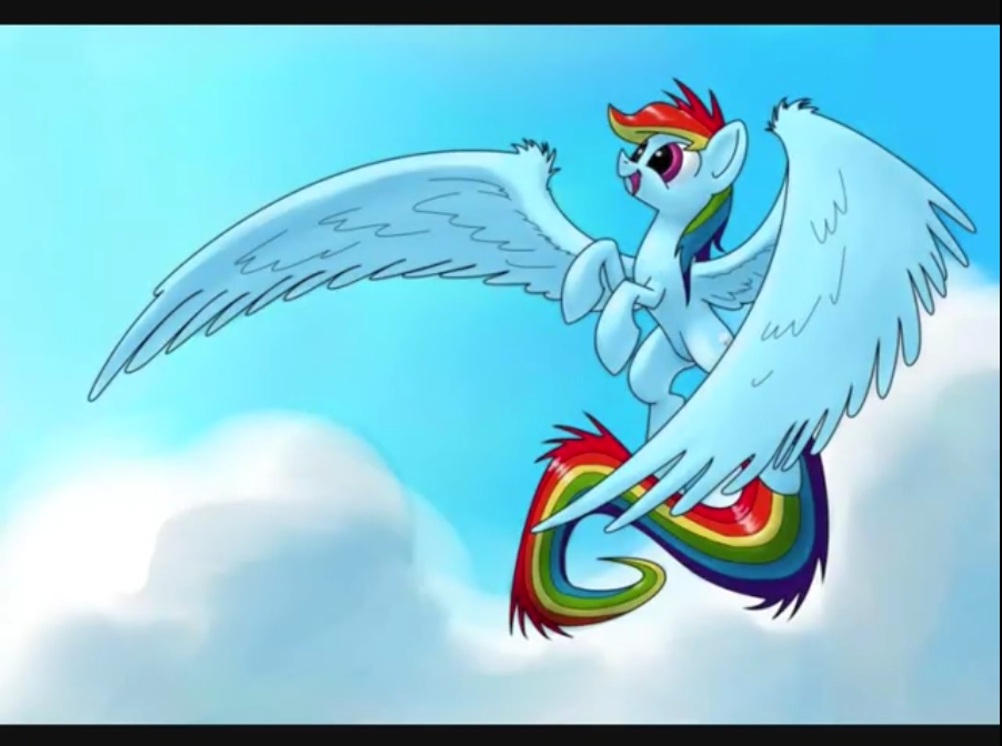 MLP rainbow dash by MLPpictures1223