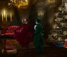 Christmas Curtsy by Pennes-from-Heaven