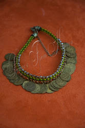 Kumihimo Anklet