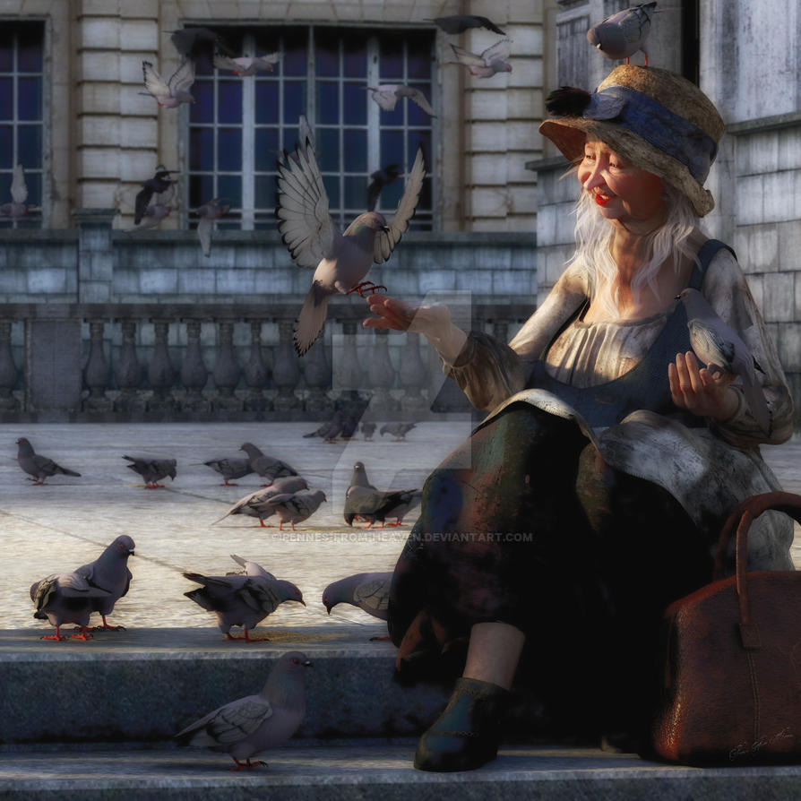 Feed The Birds by Pennes-from-Heaven