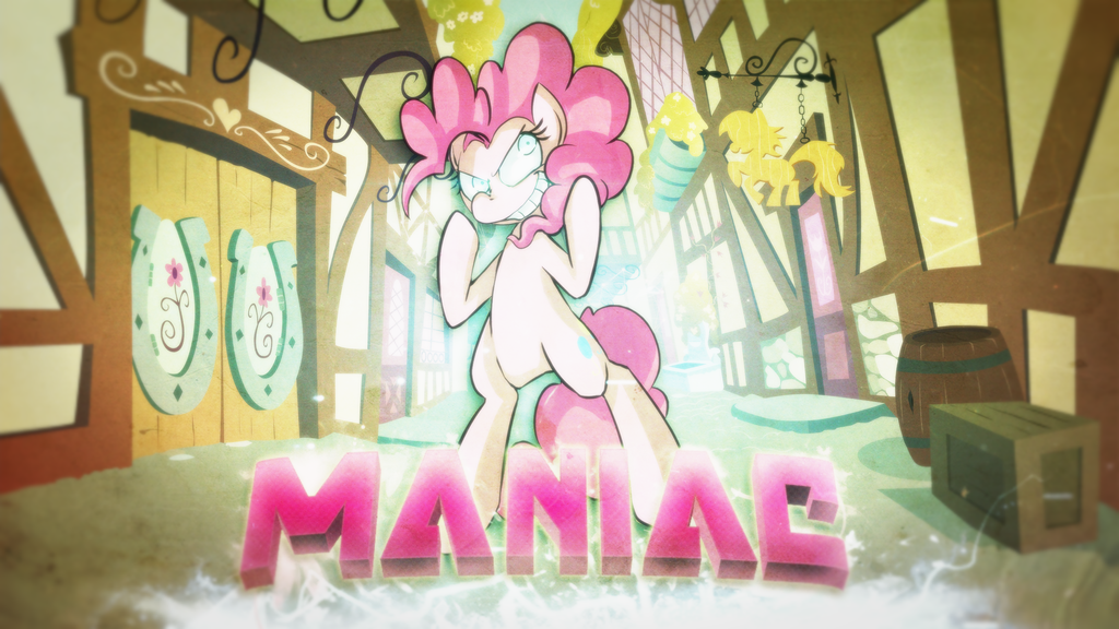 Maniac | Wallpaper by arkkukakku112