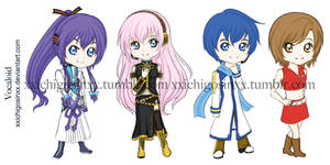 Vocaloid Stickers 2