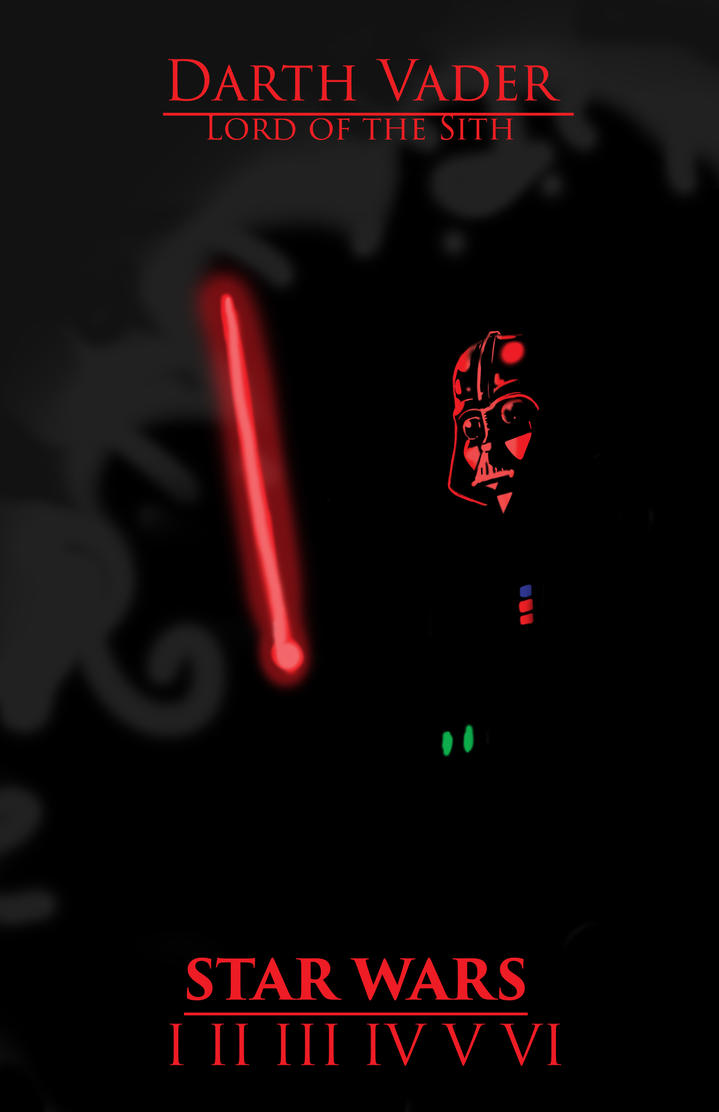 Darth Vader (edited) by cloud61587