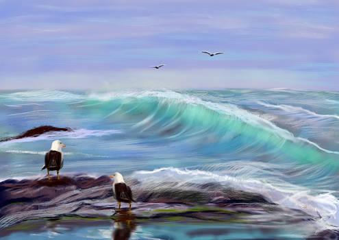 Seascape Imagination4 By Shmuckwolf