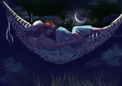 moon lit serenity