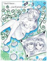 .:Of Greenery and Blue- Celvice Klein:. by Monstrocker