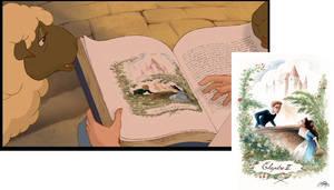 Screencap Belle's book comparative