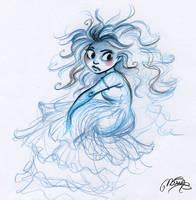 Monday's sketch by MarineElphie