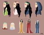 Elvish Queen color research
