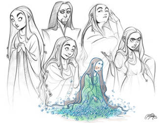 Persephone sketches
