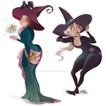 Witch sisters