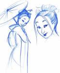 Geisha sketches