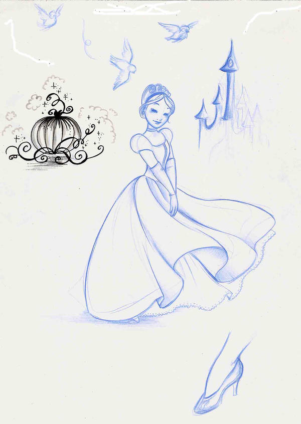 Cinderella by MarineElphie